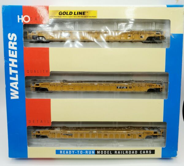 Walthers HO Gold Line 932 3943 NSC 3 Unit 53#x27; Well Cars TTX 620643 $84.95