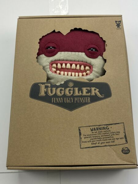Spin Master FUGGLER Funny Ugly Monster Large Red Awkward Bear Deluxe 12quot; $25.00