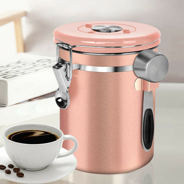 Stainless Steel Coffee Containers Airtight Coffee Storage Container Tea Sugar