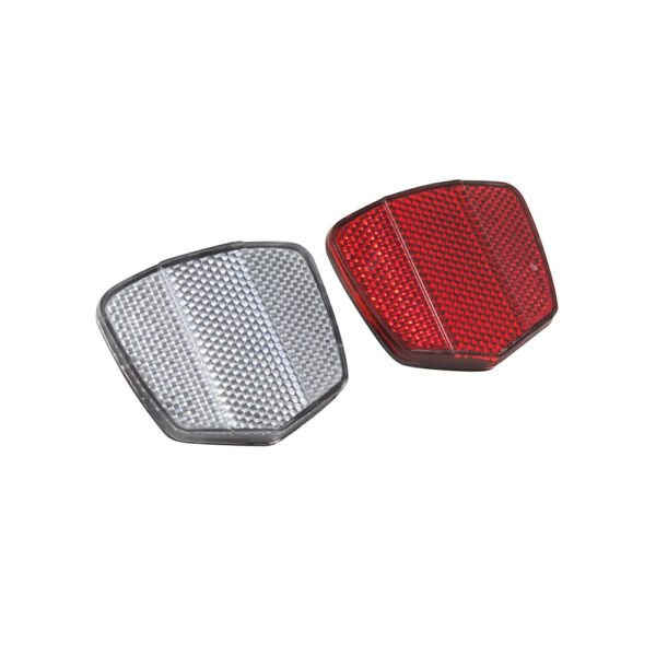 Classic Universal Bicycle Bike Front Rear Set Safety High Visibility Reflector $11.99