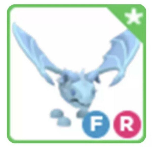 Fly Ride FR Frost Dragon Pet For Roblox Adopt Me FAST DELIVERY $22.50