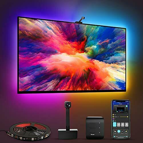 Govee Immersion WiFi TV LED Backlights with Camera RGBIC Ambient TV Lighting $96.99