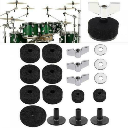 Instruments Accessories Washer Musical Cymbal Felts Set Wing Nut Drum Pads V5N6