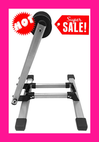 Bicycle Trainer Stationary Bike Cycle Stand Indoor Exercise Training Foldable $35.99