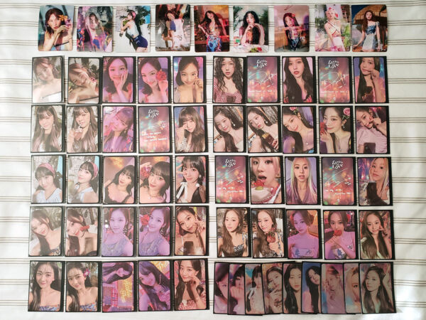TWICE TASTE OF LOVE Official Photocards US