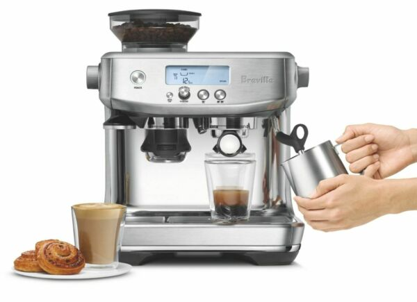 Brand New Breville the Barista Pro Brushed Stainless Steel
