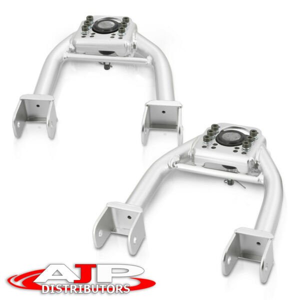 Silver Adjustable Front Upper Control Arm Camber Kit For 1994 2001 Acura Integra