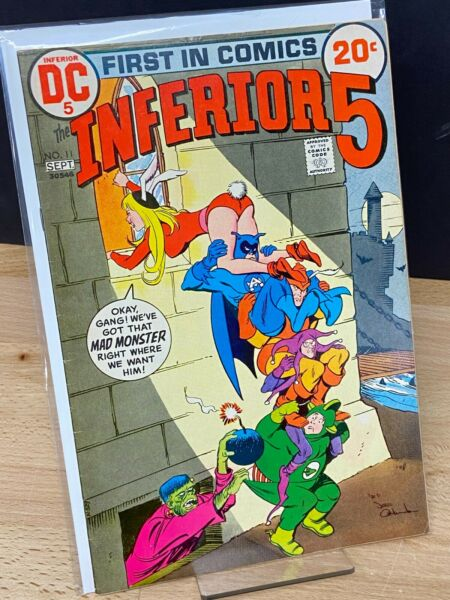 Inferior 5 Five #11 DC Comic Book 20cent bagged boarded $11.99