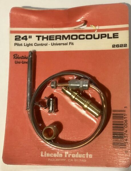 24quot; Universal robertshaw Thermocouple for Gas Pilot Light 2622 $9.98
