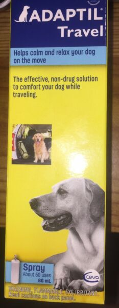Adaptil Travel Calming Dog Spray 60ml• Help Calm And Relax •FREE SHIPPING $12.99