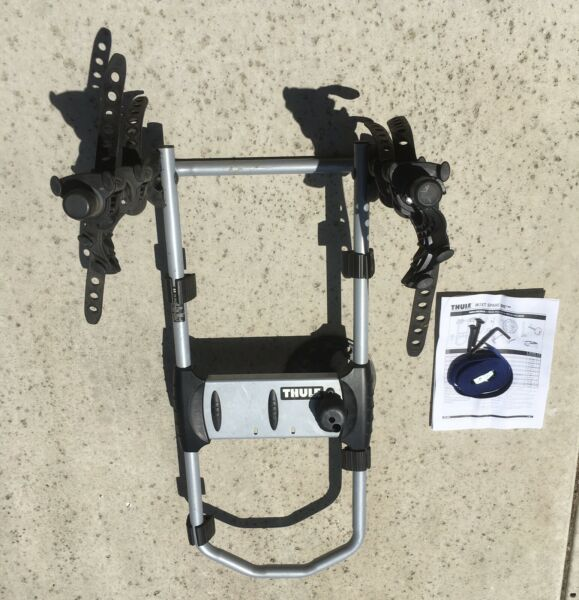 NICE COND THULE 963XT SPARE ME 2 BICYCLE RACK SPARE TIRE MOUNT COMPLETE NO LOCK $96.87