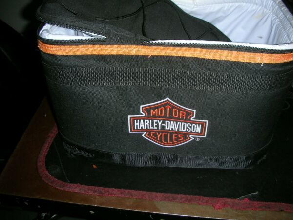 ONE COMPLETE LOT OF HARLEY TRAVEL BAGS EQUIPTMENT TOURING COOLERS T BAGS $200.00