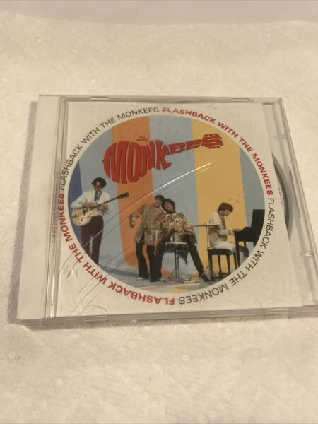 THE MONKEES FLASHBACK WITH THE MONKEES RHINO 2011 CD $2.50