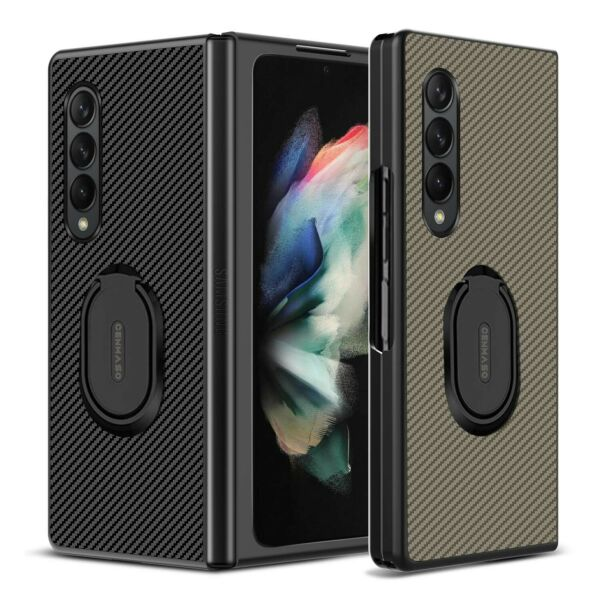 For Samsung Galaxy Z Fold 3 5G Case Shockproof Slim Protective Rugged Ring Cover