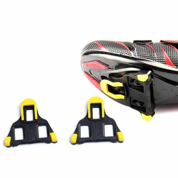 Bicycle Bike Self locking Pedal One Set 2 X Cleats Set Road Mountain Accessories $21.99