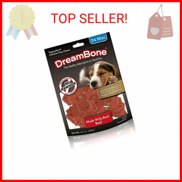 DreamBone Mini Chew Treat Your Dog to a Chew Made with Real Meat and Vegeta … $8.94