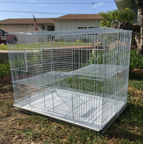 Large 30quot; Critters Cage Chinchilla Guinea Pig Ferret Hamster Gerbil Mice Rats