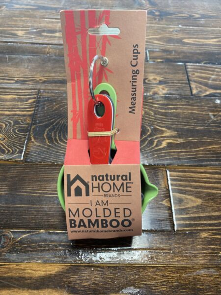 Natural Home Brands 5541 Molded Bamboo Measuring Cups $14.99