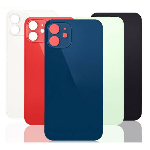 iPhone 12 12 Pro 12 Pro Max 12 Mini Rear Back Glass Big Hole Replacement $17.49