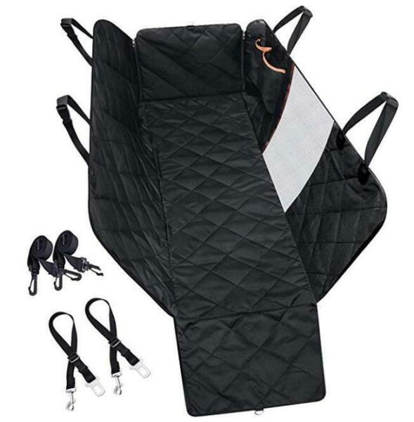 Pet Car Seat Cover Hammock for Dog Cat Suede Quilted Waterproof SUV Van Back $26.99