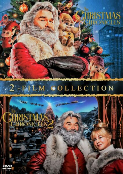 Christmas Chronicles 1 and 2 DVD Set 2 Disc Set Brand New w Free Shipping $29.95