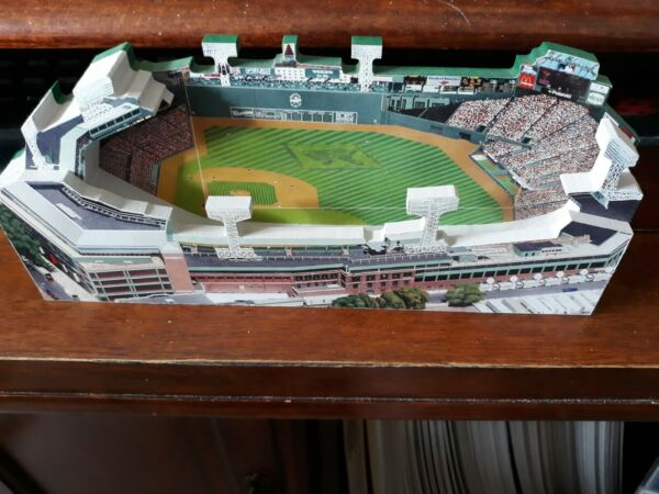 Home Fields Fenway Park Stand Up Diorama Wood Display. $14.95