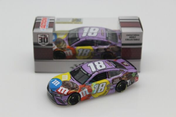 2021 KYLE BUSCH #18 Mamp;M#x27;s Fudge Brownie 1:64 In Stock Free Shipping