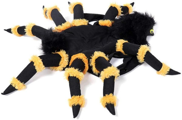 Spider Costume Pet Halloween Cosplay Dress Funny Spider Costume Dogs and Cats $20.46