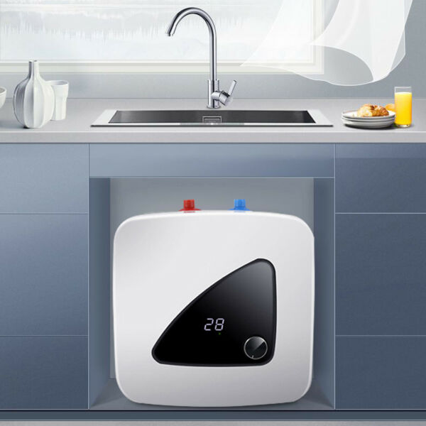 Tankless Upper Water Inlet Electric Instant Heater Kitchen Washing Bathroom 110V $81.00