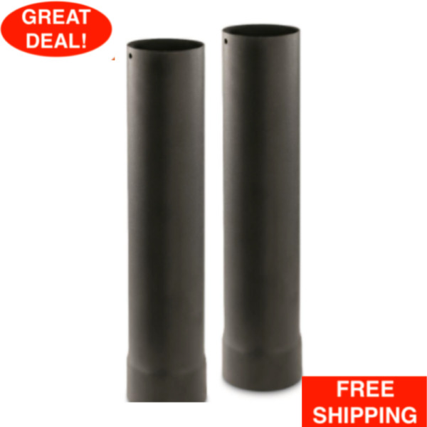 Guide Gear Outdoor Wood Stove Pipe Extensions 2 Pack Standard Size Compatible $39.99