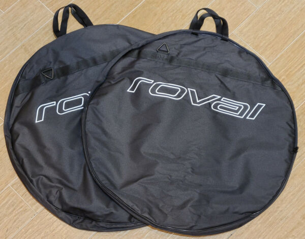 Specialized ROVAL Padded Wheel Bags 700c Pair Black $35.00