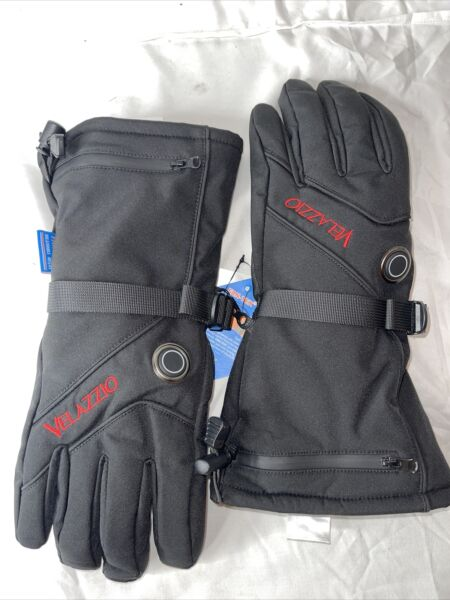 VELAZZIO Heated Gloves 3 Heat Settings Size: Small Retail: $89.99 ONLY GLOVES $20.00