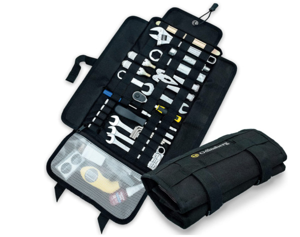 Heavy duty motorcycle tool roll bag Tools NOT included Empty small tool bag $497.00
