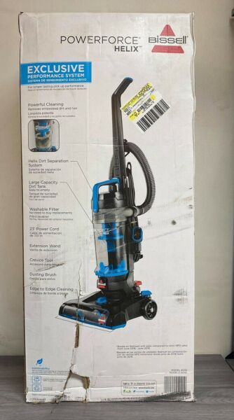 BISSELL POWERFORCE HELIX BAGLESS UPRIGHT VACUUM *DM