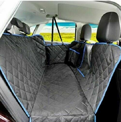Waterproof Dog Car Seat Covers with Mesh Visual Window for Cars Trucks SUV $31.99