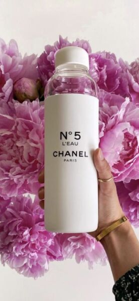 Brand New Chanel Factory 5 Collection N°5 Water Bottle Limited Edition $250.00