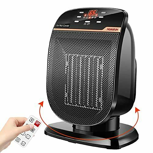 Space Heater Digital Electric Heater with Thermostat Small Portable Oscillating $47.99