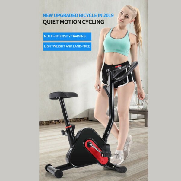 Indoor Exercise Bike Sports Bicycle Fitness Equipment Home Gym Workout w LCD $93.99
