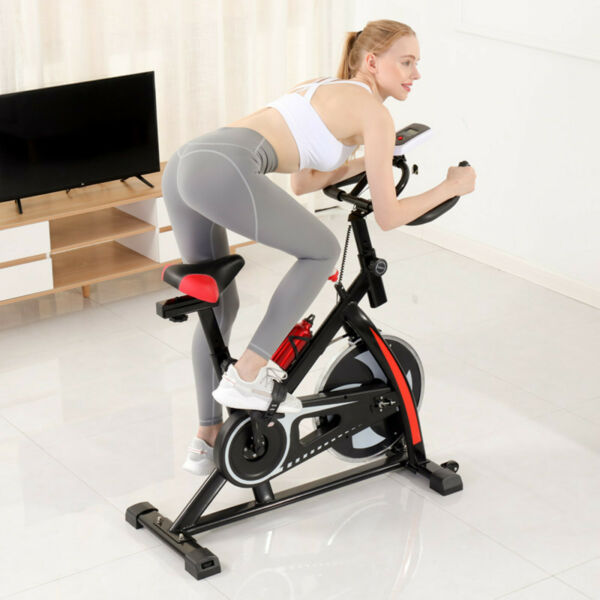 Exercise Bicycle Cycling Fitness Stationary Bike Cardio Home Indoor Bike w LCD $204.87