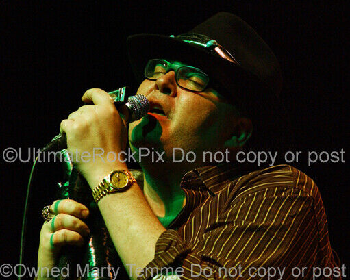 JOHN POPPER PHOTO BLUES TRAVELER 8x10 Concert Photo by Marty Temme