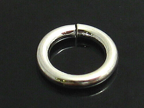 sterling silver JUMP RINGS 6mm pack of 10