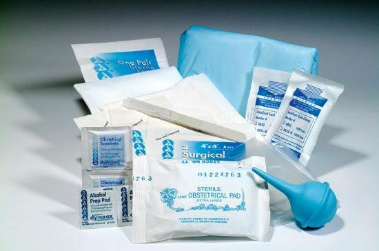 OBSTETRICAL EMERGENCY DISPOSABLE BABY OB KIT BAGGED NEW $10.99