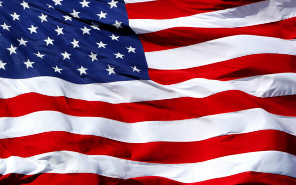 50 x 80 Poly Large American Flag 50x80 New United States Flag  Banner US Made