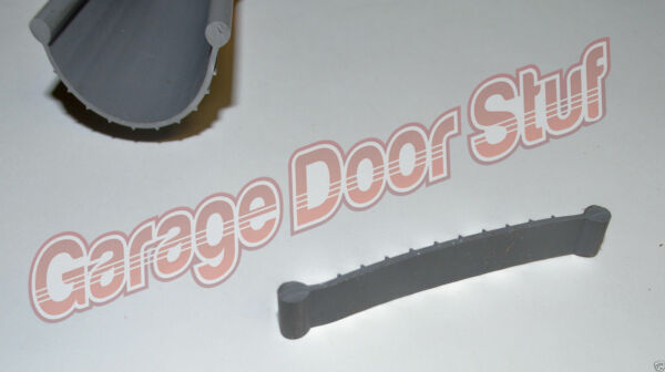 Garage Door Weather Seal Bottom Seal Bead Type Grey Vinyl NEW $22.99