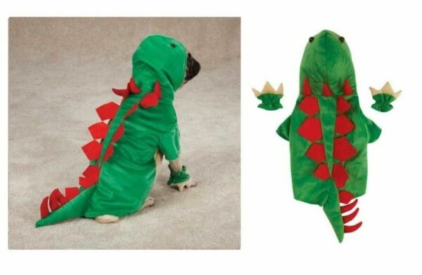 Dogosaurus Costume for Dogs Dinosaur Halloween Dog Costumes Exclusive CLOSEOUT $18.89
