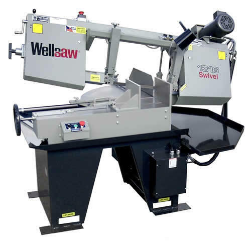 Wellsaw Model 1316S Swivel Miter Head Bandsaw Made in USA FREE SHIPPING
