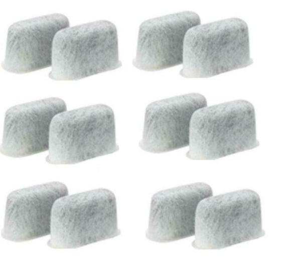 Cuisinart 12 Replacement Charcoal Water Filters in Retail 6 boxes