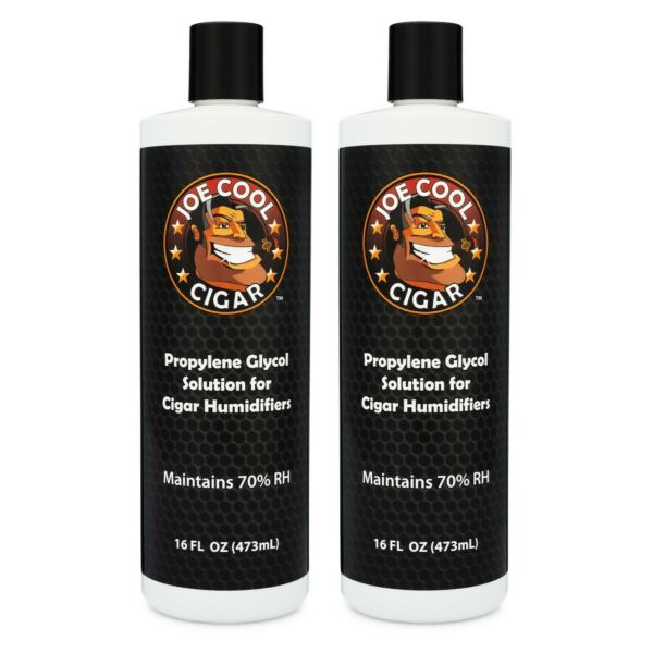 16 oz Propylene Glycol PG Solution for Cigar Humidors - 2 PACK - Joe Cool Cigar