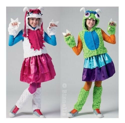 Reduced McCall#x27;s 6816 Girls#x27; Monster Costumes Pattern 7 14 $3.59