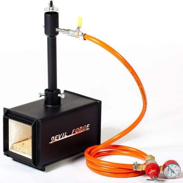 DFPROF1 Gas Propane Forge for Knifemaking Farriers Blacksmiths Furnace Burner